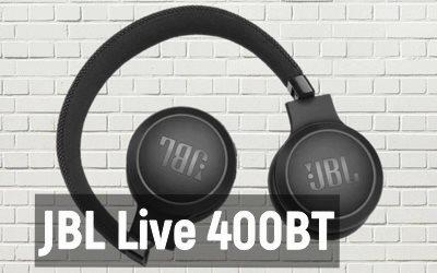 Обзор наушников JBL Live 400BT