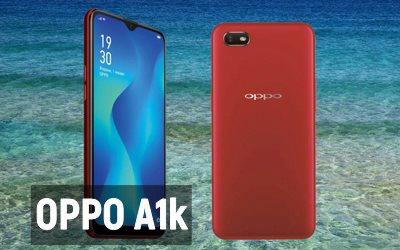 Обзор смартфона OPPO A1k