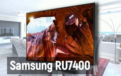 Обзор телевизора Samsung RU7400