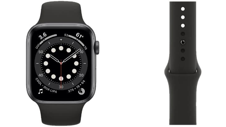 Экран и ремешок Apple Watch Series 6