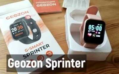 Обзор смарт-часов Geozon Sprinter
